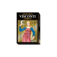 Tarot Golden Visconti Tarot - Pietro Alligo (SP, EN, IT, DE,...