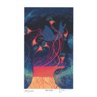 Postal Prisma Visions Tarot - James R.Eads - The Star (limit...
