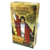 Tarot Golden Universal (Rider Waite Dorado) (EN-ES-IT-FR-DE)...
